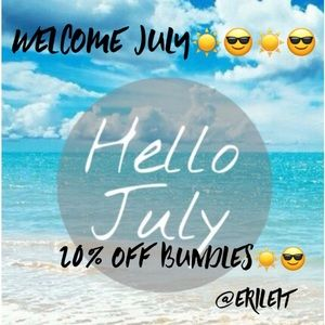 Welcome July ☀️😎☀️😎☀️😎☀️
